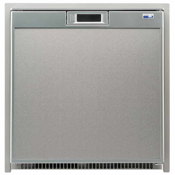 Universal Voltage Marine Refrigerator, Stainless Steel, 2.7cu.ft.