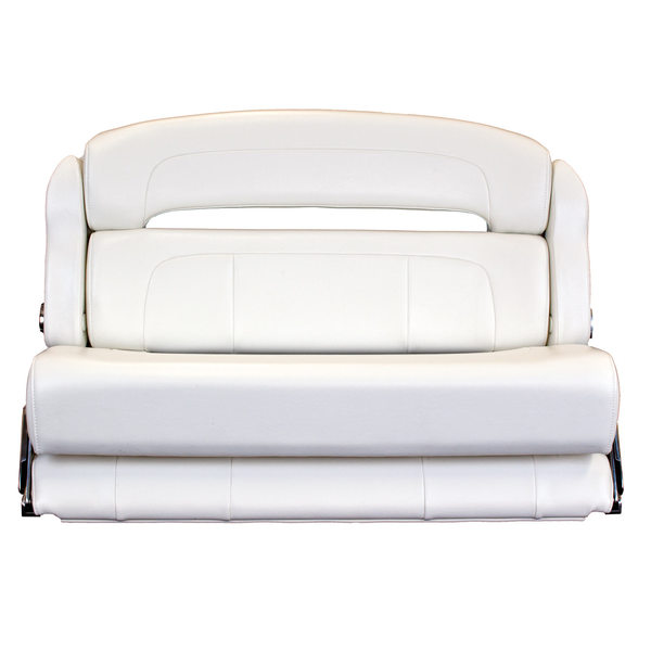 Taco Marine 36 Deluxe Capri Helm Bench Chair White