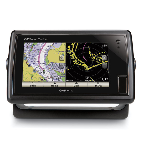 garmin gpsmap 741xs multifunction display with u s coastal and inland charts transducer sold separately west marine