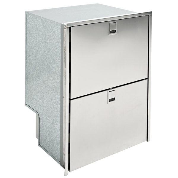 Double Drawer 160 Refrigerator/Freezer, 4 Sided Flush Mount Flange