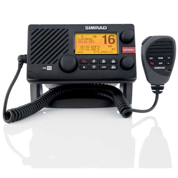 simrad rs35 fixed mount vhf radio ais receiver west marine. Black Bedroom Furniture Sets. Home Design Ideas