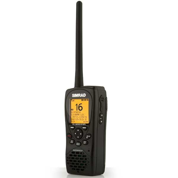HH36 Handheld VHF Radio with GPS