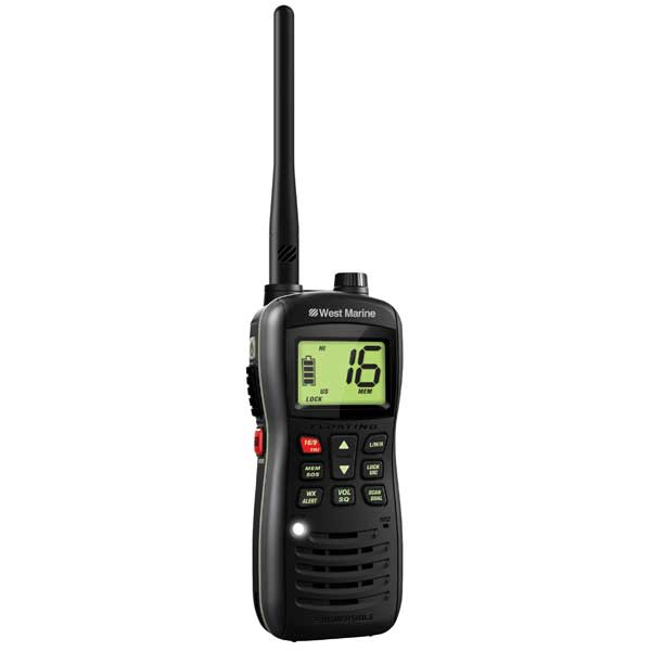 WEST MARINE VHF160 Floating 6W Handheld VHF Radio | West Marine
