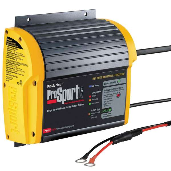 ProSport 6 Heavy-Duty Marine Battery Charger