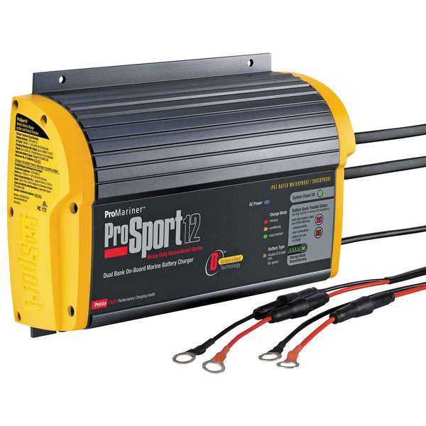 Prosport 12 Heavy Duty Marine Battery Charger
