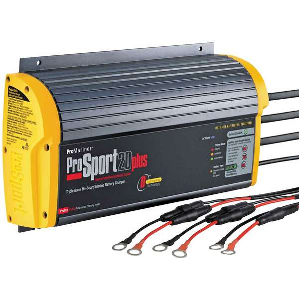 ProSport 20 Plus Heavy-Duty Marine Battery Charger