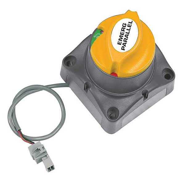Motorized Voltage Sensitive Battery Switch, 24V