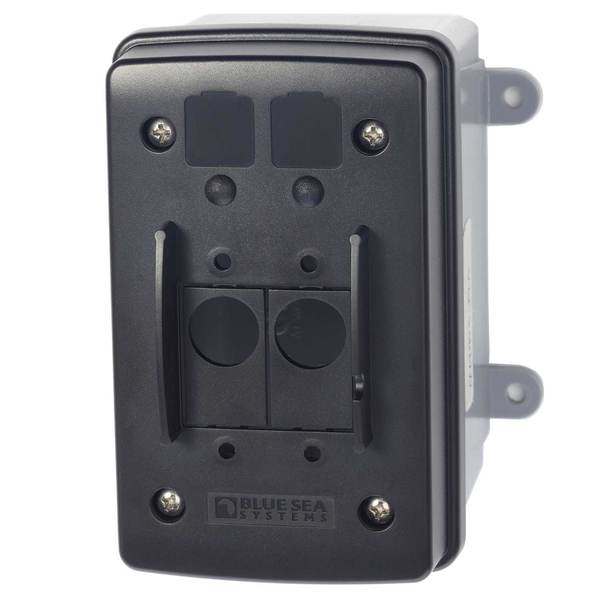 Mounting Enclosure for Single and Double Toggle Circuit Breaker