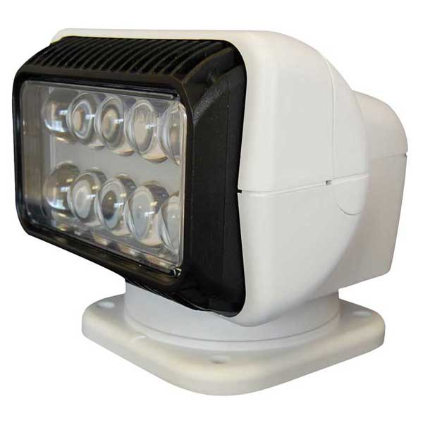 RadioRay® LED Searchlight with Wireless Handheld Remote, White