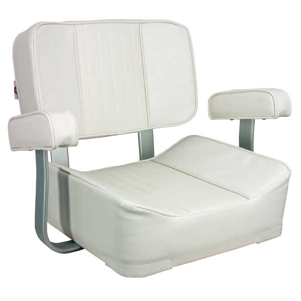 Deluxe Captain's Seat, White