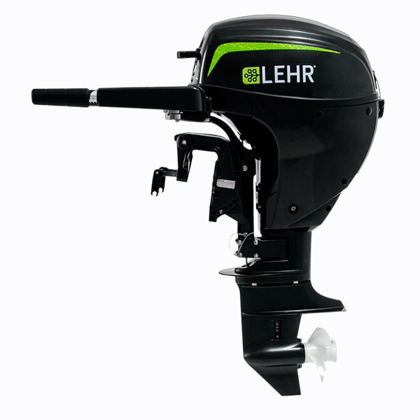 Lehr Propane Powered 4 Stroke Outboard Engine Long