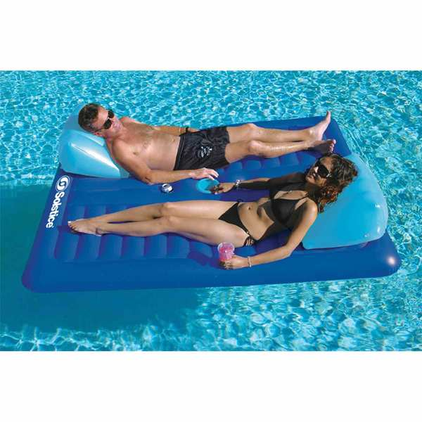 Solstice Face To Face Lounger Float West Marine