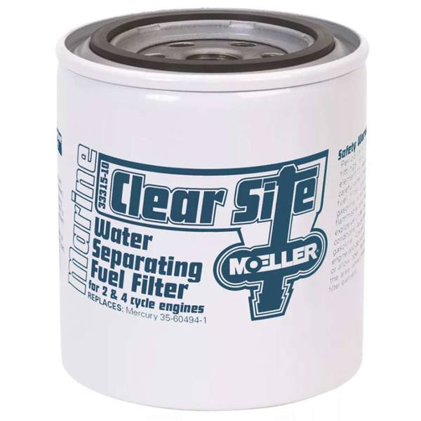 Clear Site Water Separating Fuel Filter Canister Only
