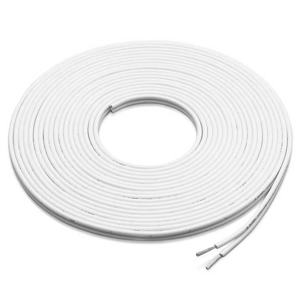 XM-WHTSC16-500 White Parallel Conductor Speaker Cable, 500' Spool
