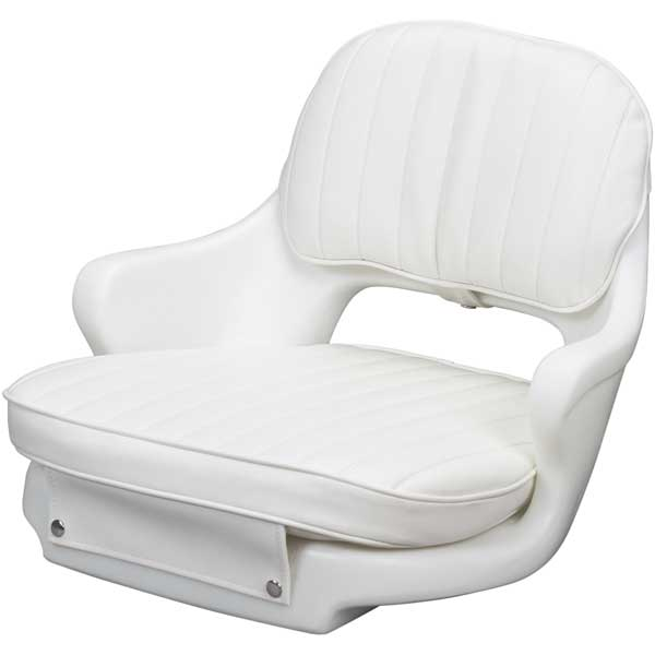 Helm 2000 Chair, Cushion Set and Mounting Plate, White