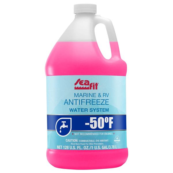 -50°F Marine & RV Water System Glycol/Alcohol Antifreeze, Gallon