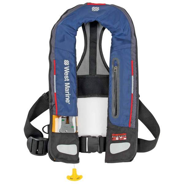 West Marine Deep Water Automatic Inflatable Life Jacket