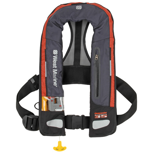 Deep Water Automatic Inflatable Life Jacket