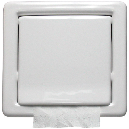 Flush Mount Toilet Paper Holder