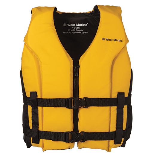 "Cruiser Life Jacket, Youth 50-90lb., Chest Size 25""-29"""