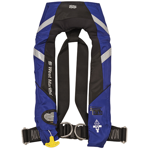 West Marine Offshore Automatic Inflatable Life Jacket With