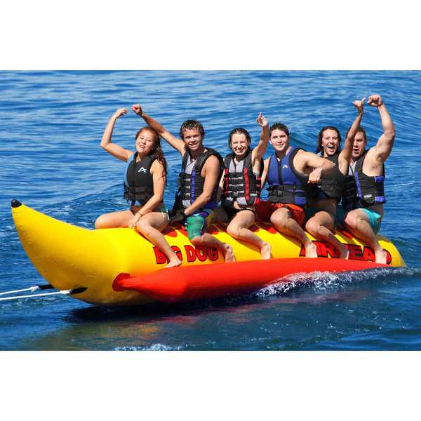 Big Dog 6-Person Towable Tube
