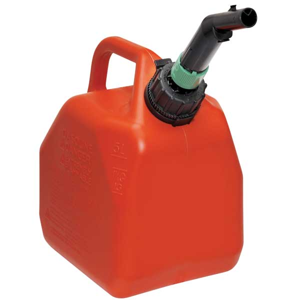 ECO 1 Gallon Gas Can, Red