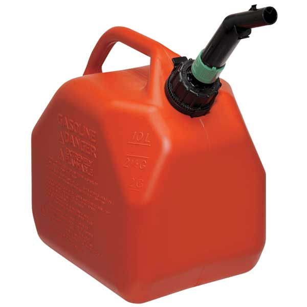 ECO 2 Gallon Gas Can, Red