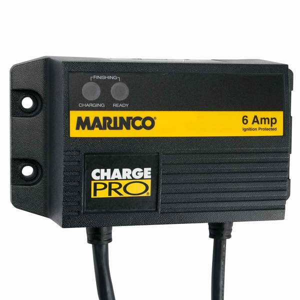 Charge Pro Waterproof Single Bank 6A Battery Charger