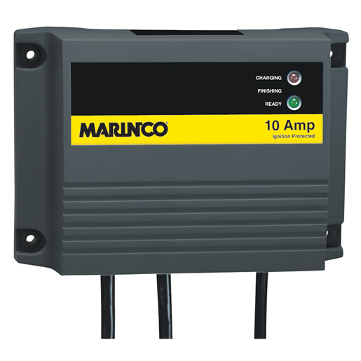 marinco charge pro waterproof 10a battery charger west marine