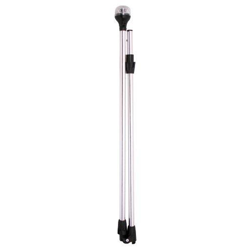 Led Boat Pole Lights: ATTWOOD Series 5500 Folding LED All-Round Navigation Pole