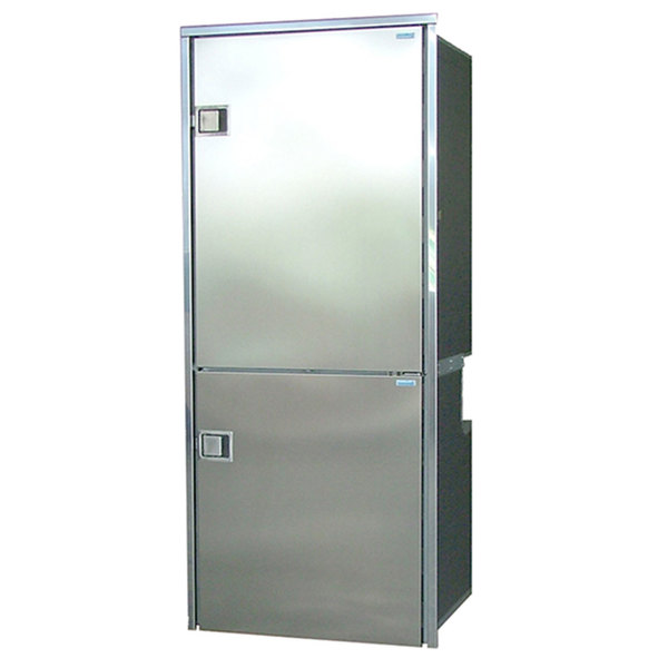 CR-195 INOX, Stainless Steel Doors & Panels, 3-Sided Stainless Steel Flange, AC/DC