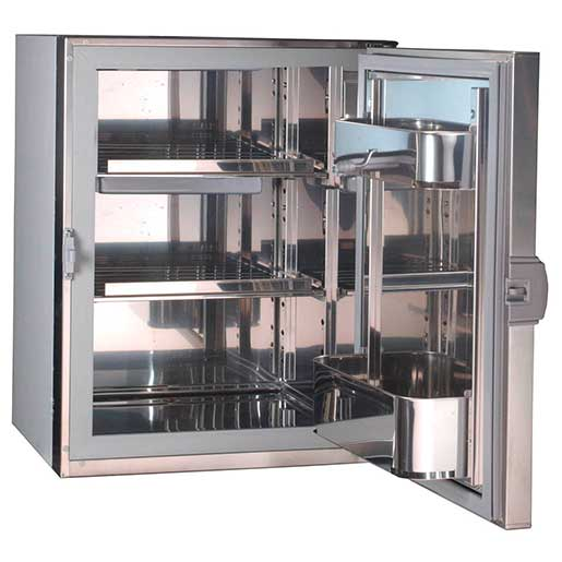 130 Series Stainless Steel Refrigerator, DC