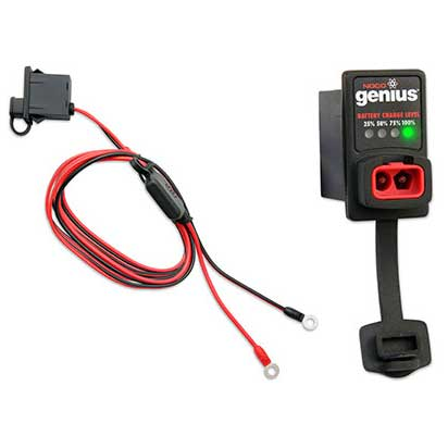 12V Dashmount Battery Charger Connector with Indicator