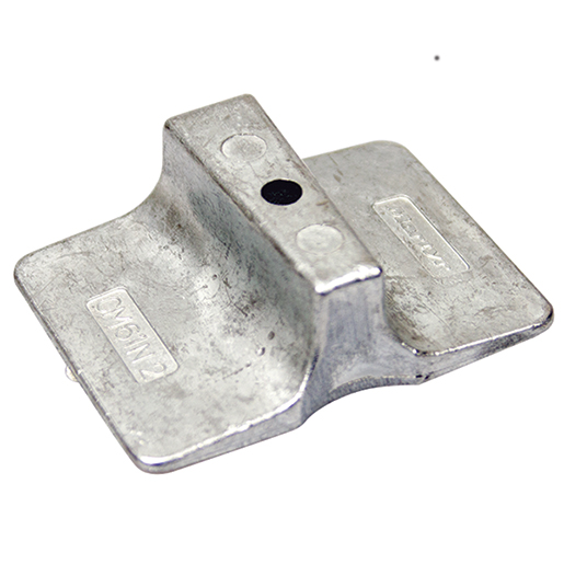 Lehr Zinc Anode For Propane Powered Outboard Engine Lower