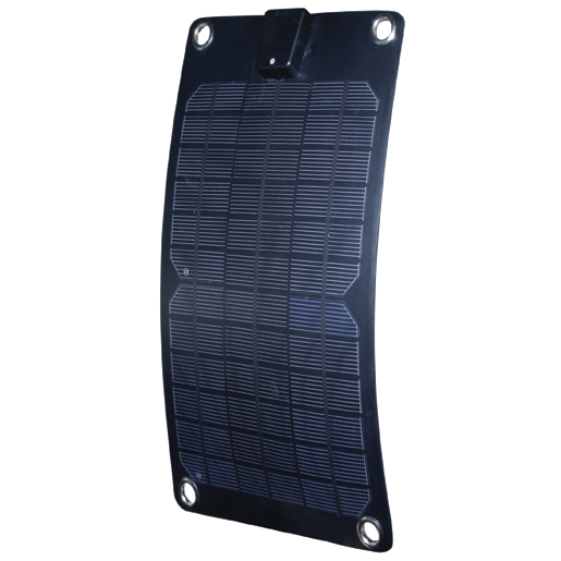 Semi-Flexible 5W Monocrystalline Solar Panel