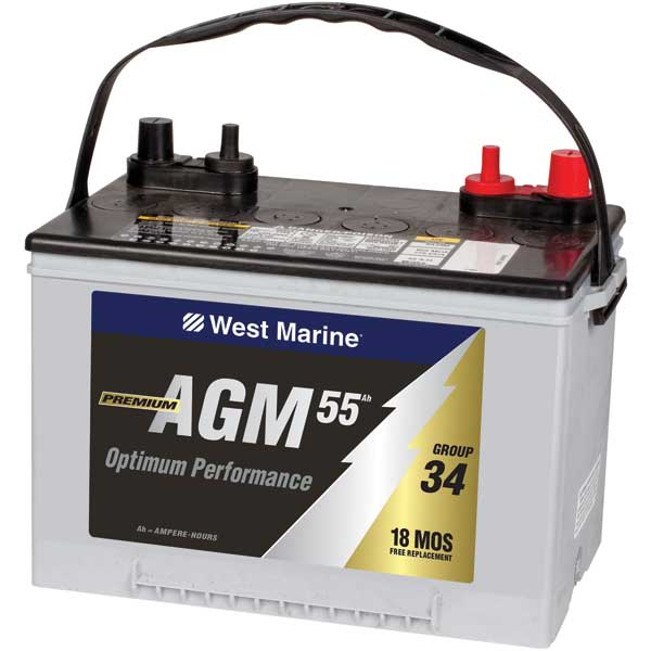 High Cranking Power AGM Battery