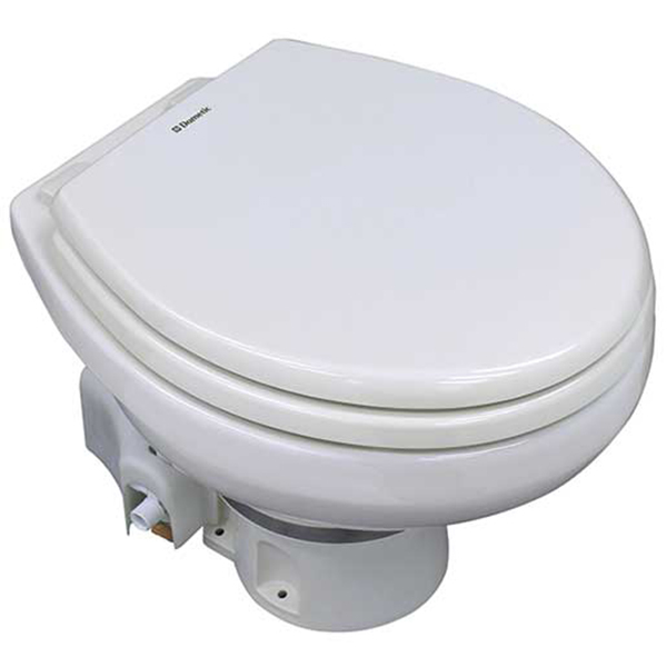 MasterFlush ORBIT 7100-Series Electric Toilet Raw Water Flush