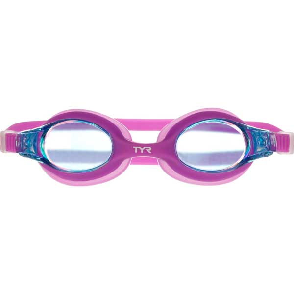 Kid's Mirrored Swimples Goggles, Berry Fizz