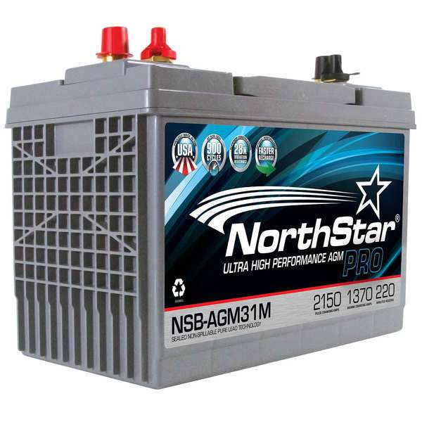 Northstar Battery Group 31 Thin Plate Pure Lead Agm Battery West