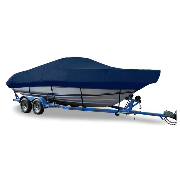 "Walk-Around Cuddy Cover, OB, Navy, Hot Shot, 31'5""-32'4"" 102"" Beam"