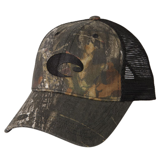 Mesh trucker hat for Fishing apparel hats