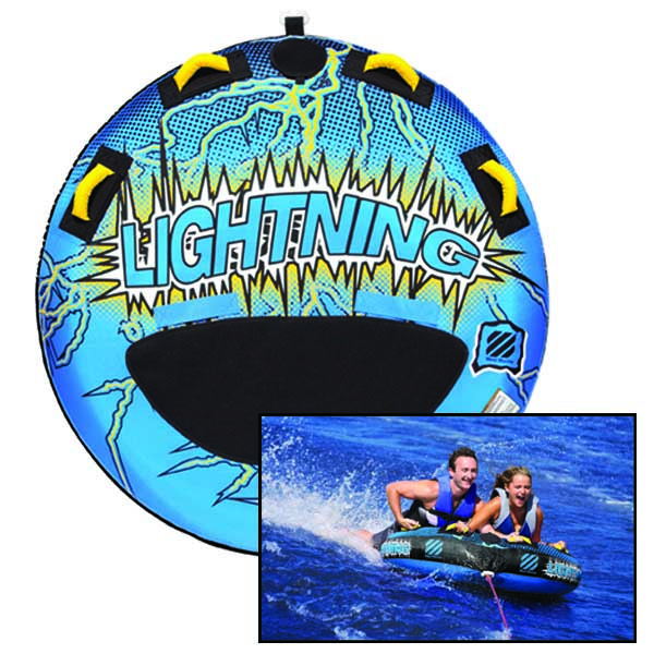 Lightning 2-Person Towable Tube