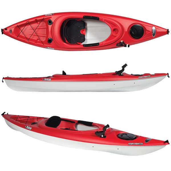 Q Kayaks Penguin Review PELICAN 10' Matrix 100...