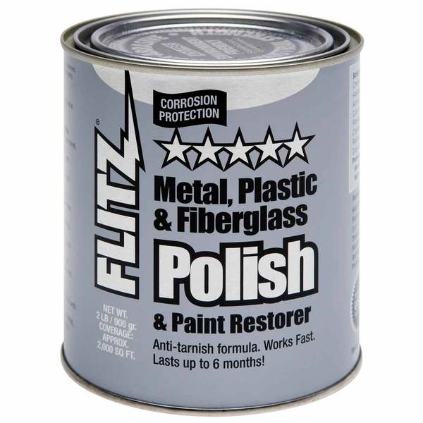 Metal Polish Cream Paste, Quart