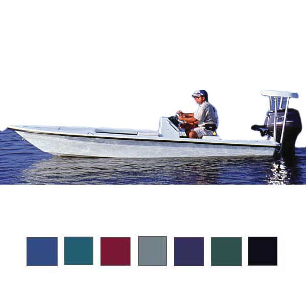 Taylor Made Flats Boat Cover, OB, Pacific Blue, Hot Shot, 206-215, 96 Beam
