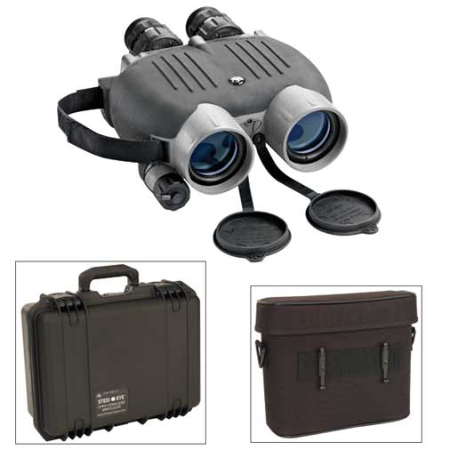 Bylite 14 x 40 Gyro-Stabilized Binoculars with Pouch and Case