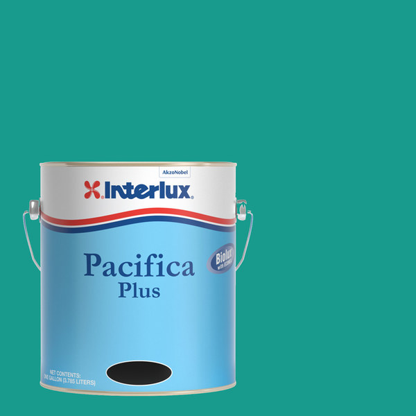 Interlux Pacifica Plus Bottom Paint, Green, Gallon