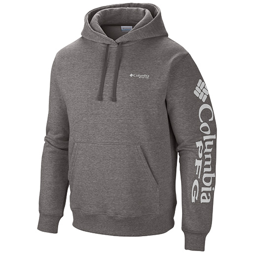 Columbia men s pfg sleeve graphic hoodie west marine for West marine fishing shirts