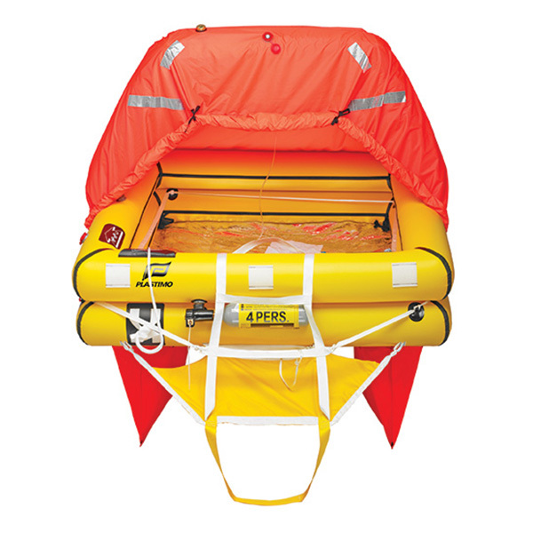 Transocean ISO 9650-1A ISAF Offshore Life Raft with Canister